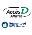 AccèsD Affaires garanteed 100% secure