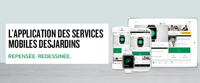Application Services mobiles Desjardins
