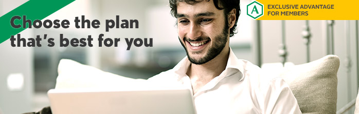 Choose the plan that's best for you on AccèsD Internet or Mobile
