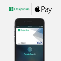 Pay With Apple Pay Desjardins