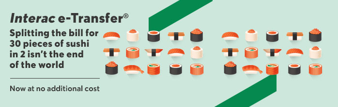 Splitting the bill for 30 pieces of sushi in 2 isn't the end of the world. Now at no additional cost.