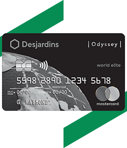 Carte Debit Hsbc Canada.Odyssey World Elite Mastercard Credit Card Desjardins