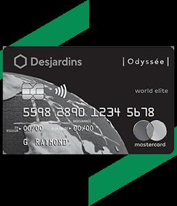 Carte Dassurance Maladie Et Hospitalisation Desjardins.Carte De Credit Odyssee World Elite Mastercard Desjardins