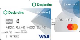 Cartes De Credit Remises Visa Et Mastercard Desjardins