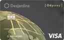Visa Odyssey Gold Desjardins