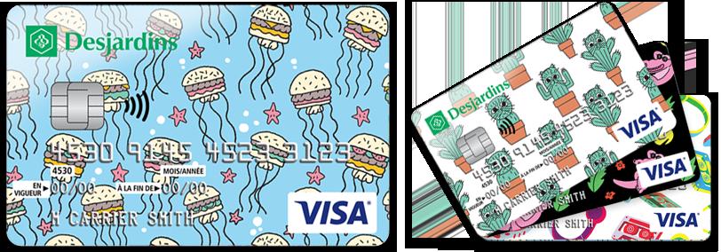 Personnaliser le visuel de votre carte remises pour for Banque des jardin