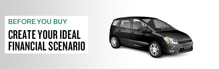 Before you buy, create your ideal financial scenario. Learn more about vehicle loans.