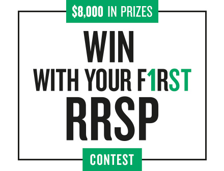 Win with your first RRSP contest