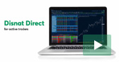 Discover the trading platform for active traders: Disnat Direct