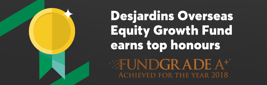 2 Desjardins Funds take home awards.