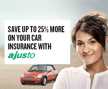 Save up to 25% more on your car insurance with Ajusto