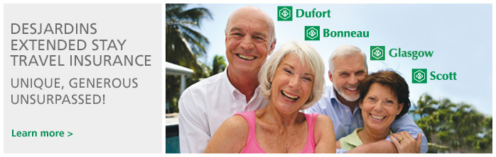 Desjardins extended stay travel insurance
