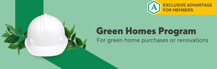 Green savings for Ariane Aubin, eco-homeowner. Learn more about the Green Homes Program.