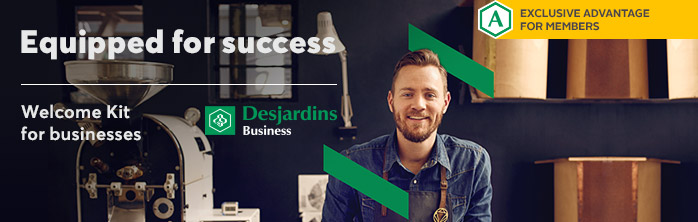 Equipped for success. Learn more about our Welcome Kit for businesses.