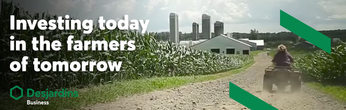 Investing today in the farmers of tomorrow.  Watch the video.