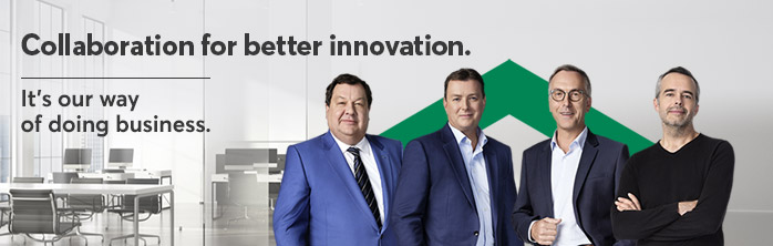 Collaboration for better innovation. It's our way of doing business. Learn more about our offer for SMEs.
