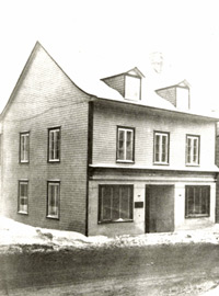 Site where the first caisse was founded in 1900