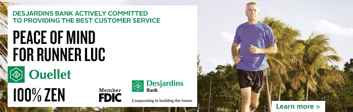 Desjardins Bank, actively committed to providing the best customer service. Learn more.
