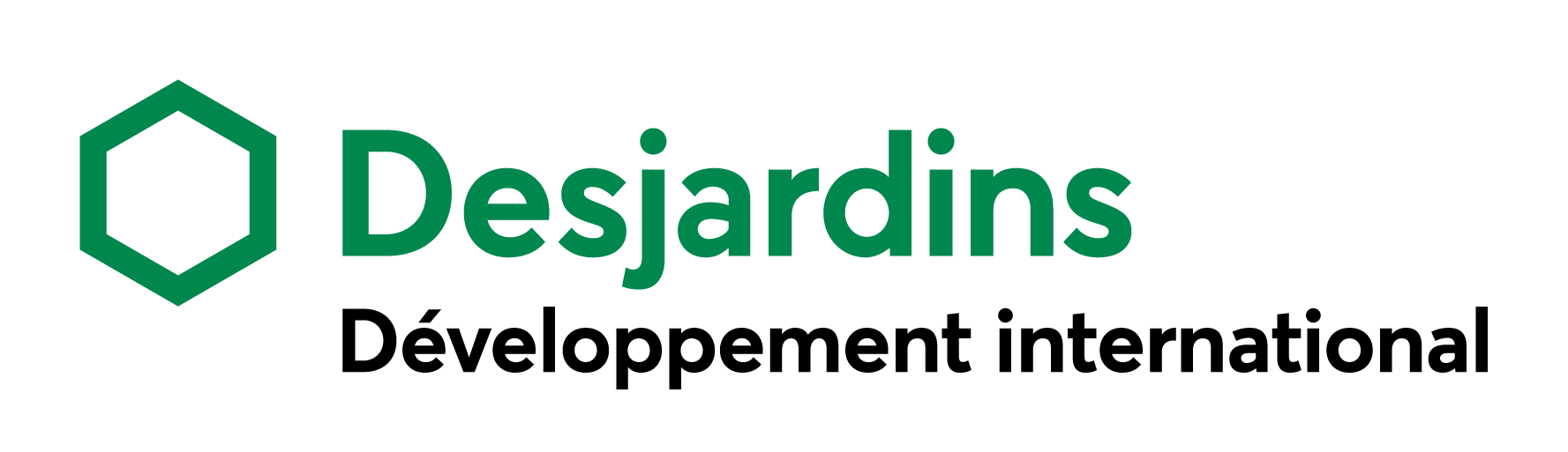 Logo Développement international Desjardins – couleur