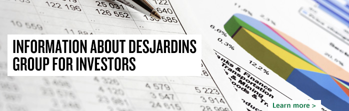Information about Desjardins Group for investors