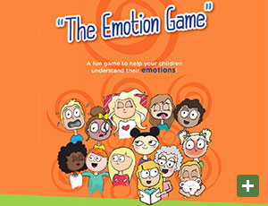 see The Emotion Game  - This link will open in  a new window