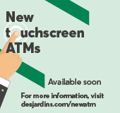 We're modernizing our ATMs!