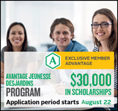 The 2016 Avantage Jeunesse Desjardins program