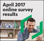 April 2017 online survey results