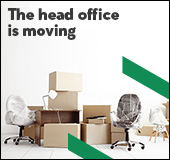 The head office is moving