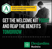 Get the welcome kit today and reap the benefits tomorrow