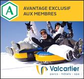15 % de rabais sur le Passeport + Rafting au centre de jeux d'hiver du Village Vacances Valcartier