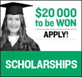 Our fifth annual scholarship program is under way: $20,000 to be won