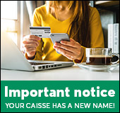 Your caisse has a new name!