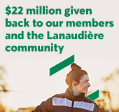 Desjardins caisses of Lanaudière will give back $22M in member dividends