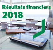 Résultats financiers 2018