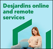 Desjardins online and remote services