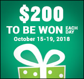 Co-op Week: $200 to be won each day