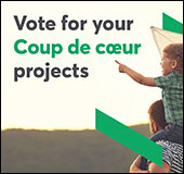 Vote for your favourite <span lang='fr'>Coup de cœur</span> projects