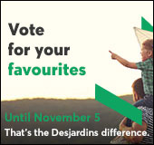 You have until November 5, 2017, to vote for your favourite initiatives!