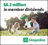 $6.3 million in member dividends