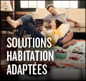 Solutions habitation adapt�es