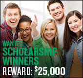 Wanted: scholarship winners