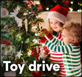 Toy drive for Saint-Vincent-de-Paul