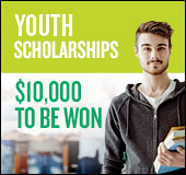 2016 scholarships: $10,000 to be won
