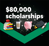 $80,000 in youth scholarships