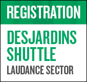 The Desjardins shuttle, an exclusive Desjardins Member Advantage for Faubourg  Laudance residents