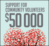 Support for community volunteers
