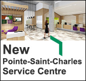 New Pointe-Saint-Charles Service Centre: Opening on September 17, 2018