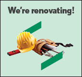 We're renovating the Atwater Service Centre