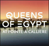 Desjardins: Official presenter of the Queens of Egypt exhibition